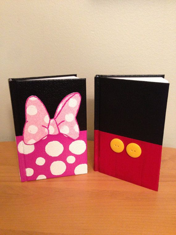 Disney Character Autograph Book by ArtsandCrafty1 on Etsy, $10.00