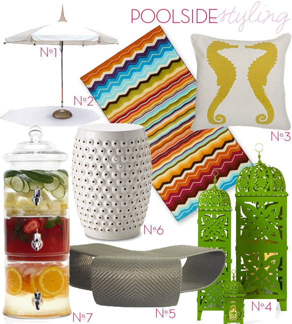 My designer pal Beth and her cohort Carolina at Pulp Design Studios puts together these extremely drool-worthy collections of eye candy. I want it all, but especially the Missoni beach towel.: Eye Candy