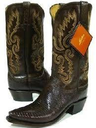 Men's Cowboy boots Lucchese 1883 Brown Lizard