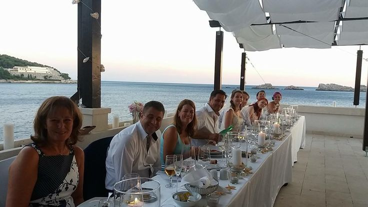 Wedding Reception. Top Table. Importanne Resort. Hotel Neptun