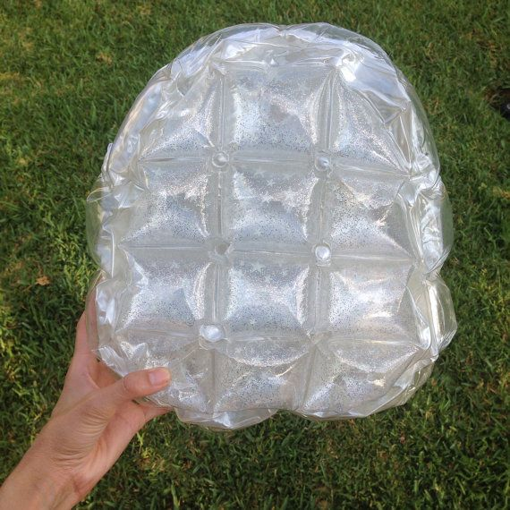 90s Bubble Backpack Inflatable Backpack Blow Up
