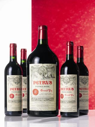 Chateau Petrus... much sought after at auction!