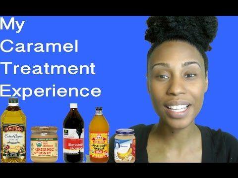 I Tried a DIY Caramel Moisture Treatment on My Type 4 Natural Hair | Black Girl with Long Hair