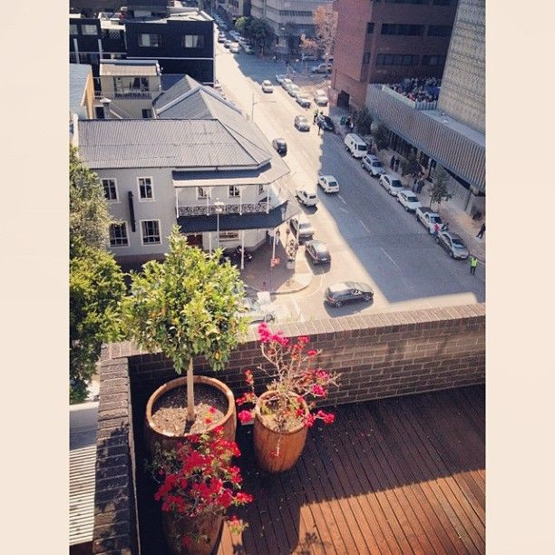 Juta and De Beer street, Braamfontein