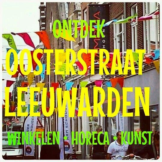Shoppingarea Leeuwarden. Nieuwe Oosterstraat. Localshop shopping
