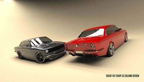 volvo coupe#volvo 142#custom#hotrod#volvo