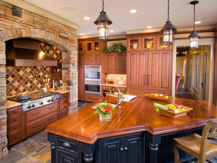 Inspired Examples Of Wood Kitchen Countertops