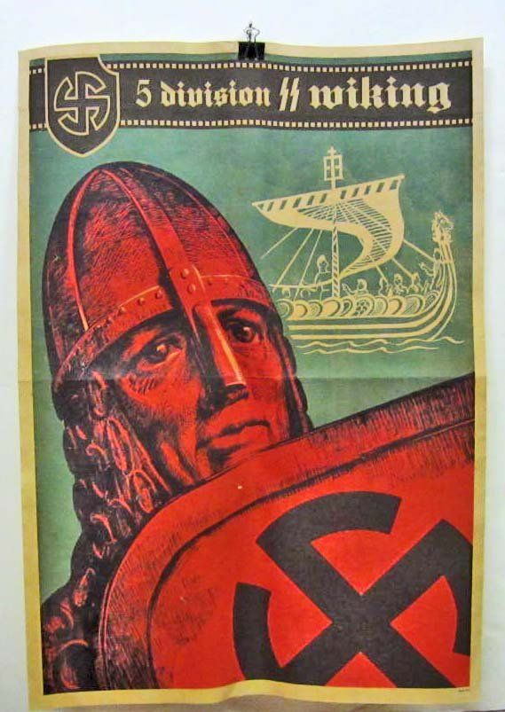 Wiking SS propaganda poster