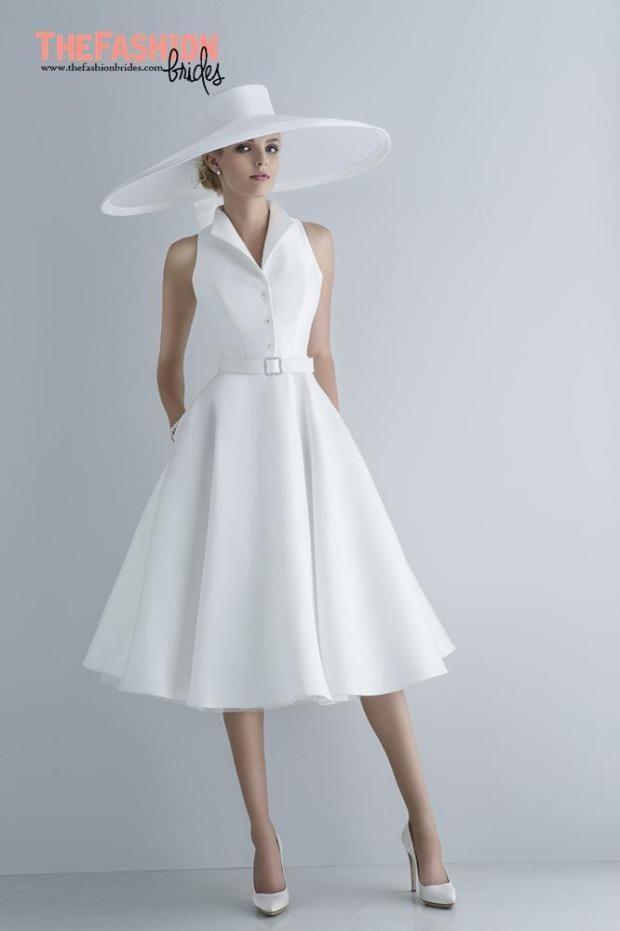170 best Short Wedding Gowns images on Pinterest | Wedding frocks ...