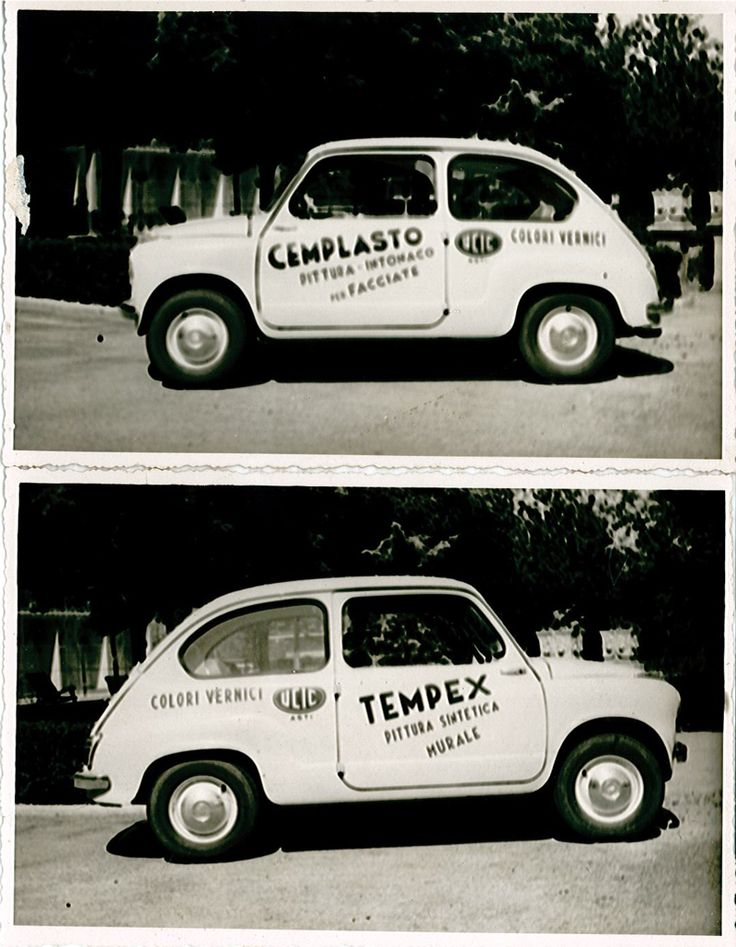 Tempex is a product we still produce and sell! #car #advertising '60s #60s #Tempex #UCIC #FIAT #600
