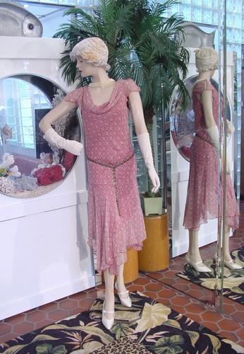 1920s dress flapper modern millie great gatsby berry amp beige drop