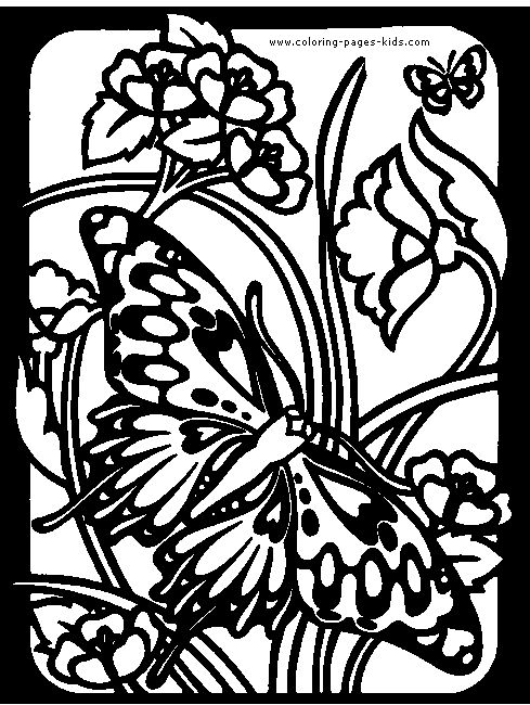 24 best Coloring pages images on Pinterest Butterflies, Coloring - copy coloring pages flowers and butterflies