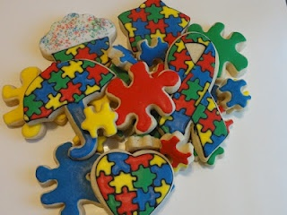 The Cookie Puzzle: Puzzle/Autism cookies