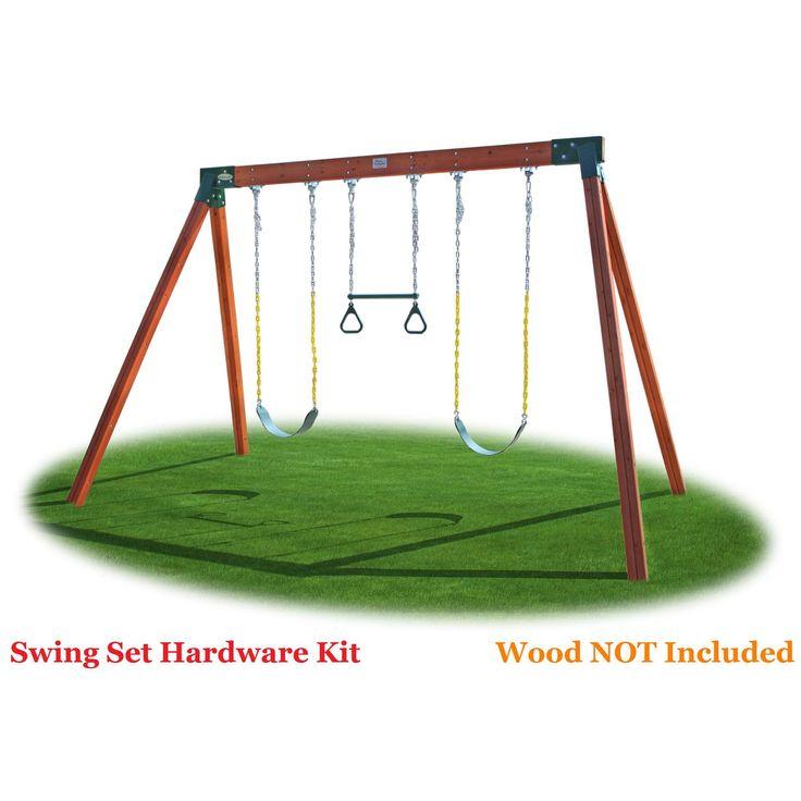 Eastern Jungle Gym Classic A-Frame Swing Set Hardware Kit - CLASSIC HARDWARE KIT