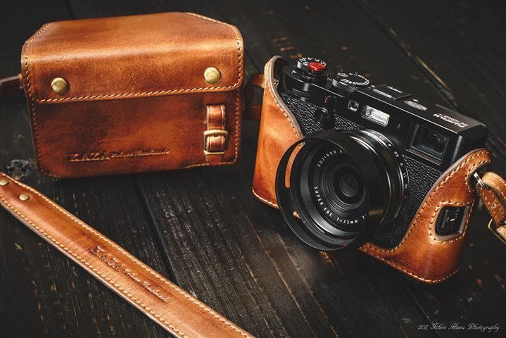 Image result for black fuji x100f with brown case | Inspiration