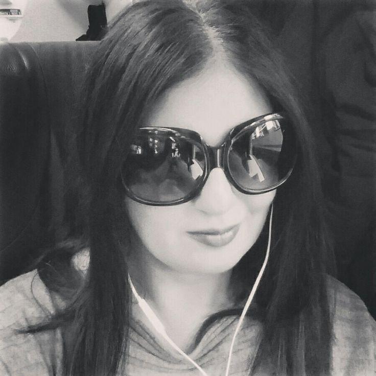 Me Black and White train