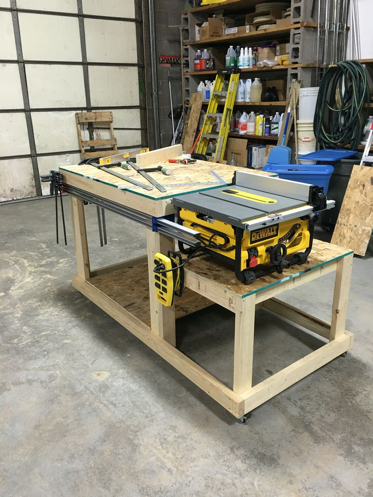Workbench/Table Saw Bench