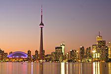 Toronto, Canada - to visit relatives.