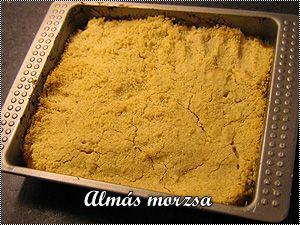 Almás morzsa (apple crumble)