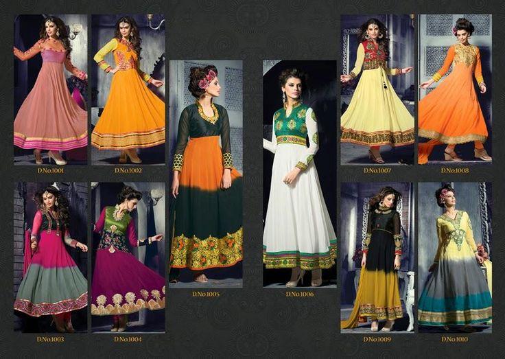 Buy Designer Cindrella Designer Anarkali Salwar Kameez