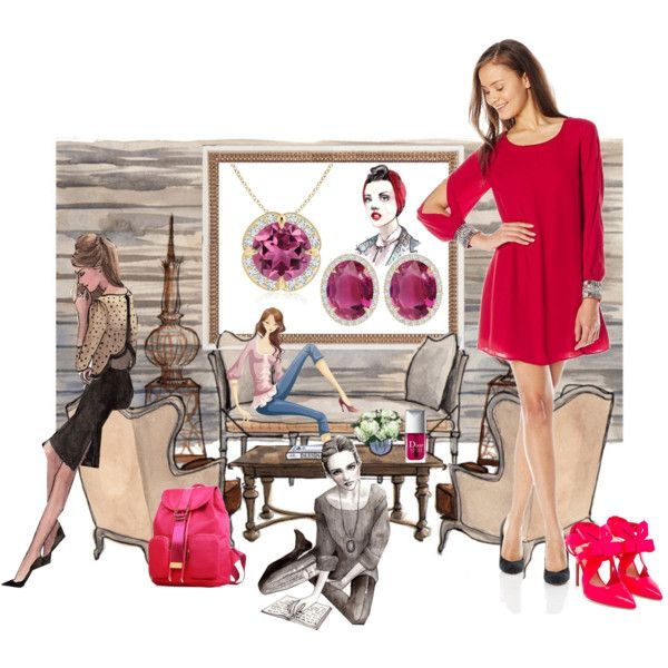 Flair Meets Fashion! by angarainc on Polyvore featuring As U Wish, Nicholas Kirkwood and Christian Dior