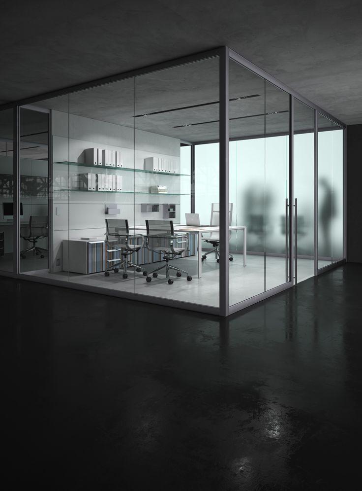 Black Floor Office_render with Maxwell Render