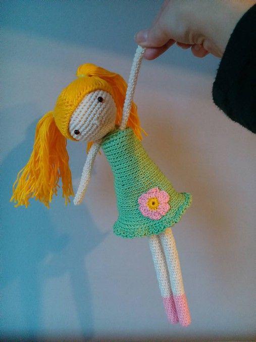 Crochet doll kaizerka / Bábika Amálka