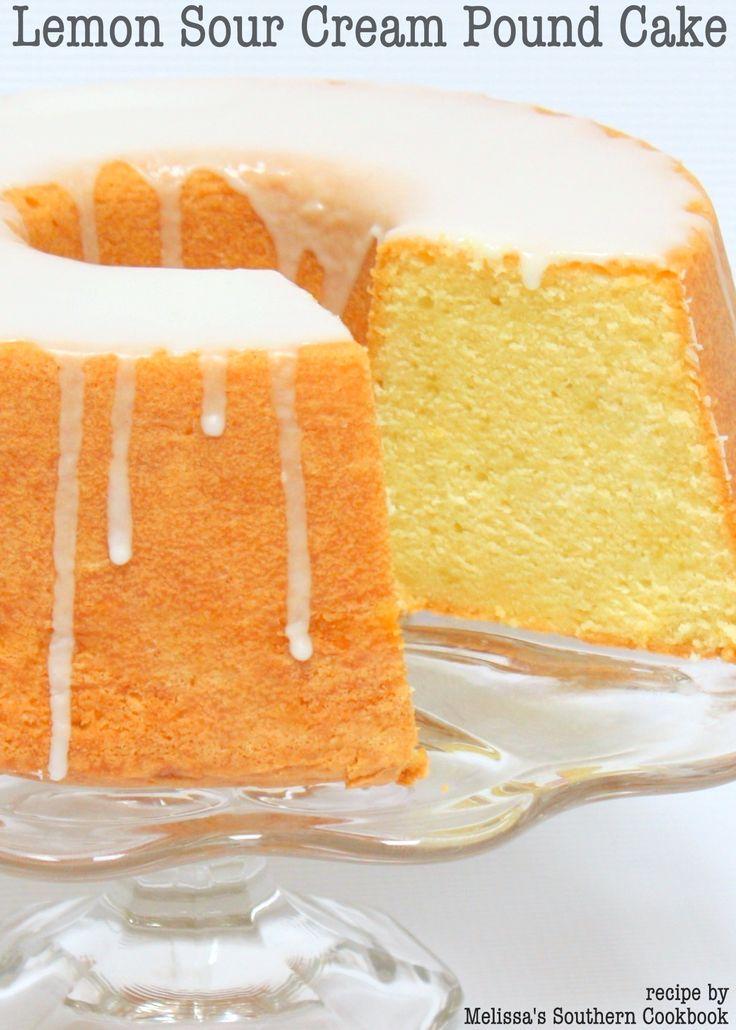 Sour cream pound cake recipes southern living