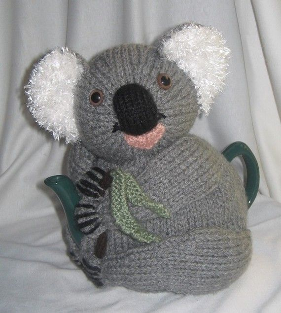Knitting Pattern For Koala Bear Mittens : 1000+ images about Animal Knitting Patterns on Pinterest Toys, Ravelry and ...