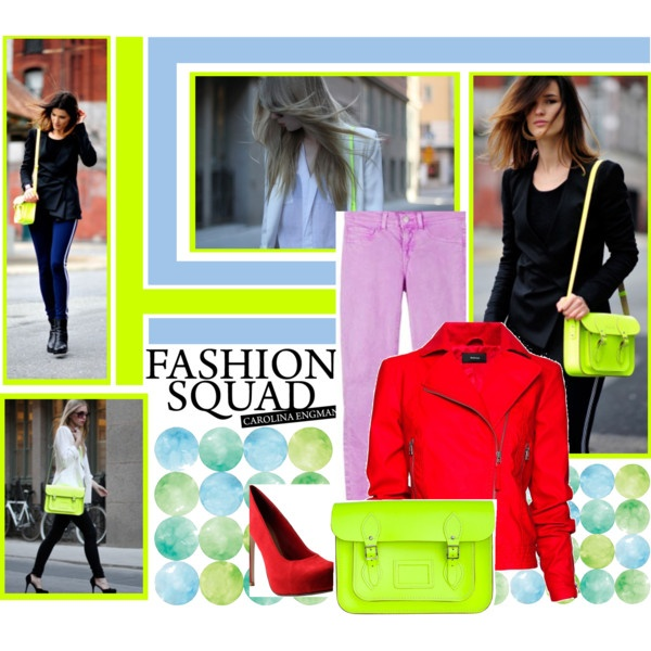 """Fashion Squad"" by stavipapa on Polyvore"