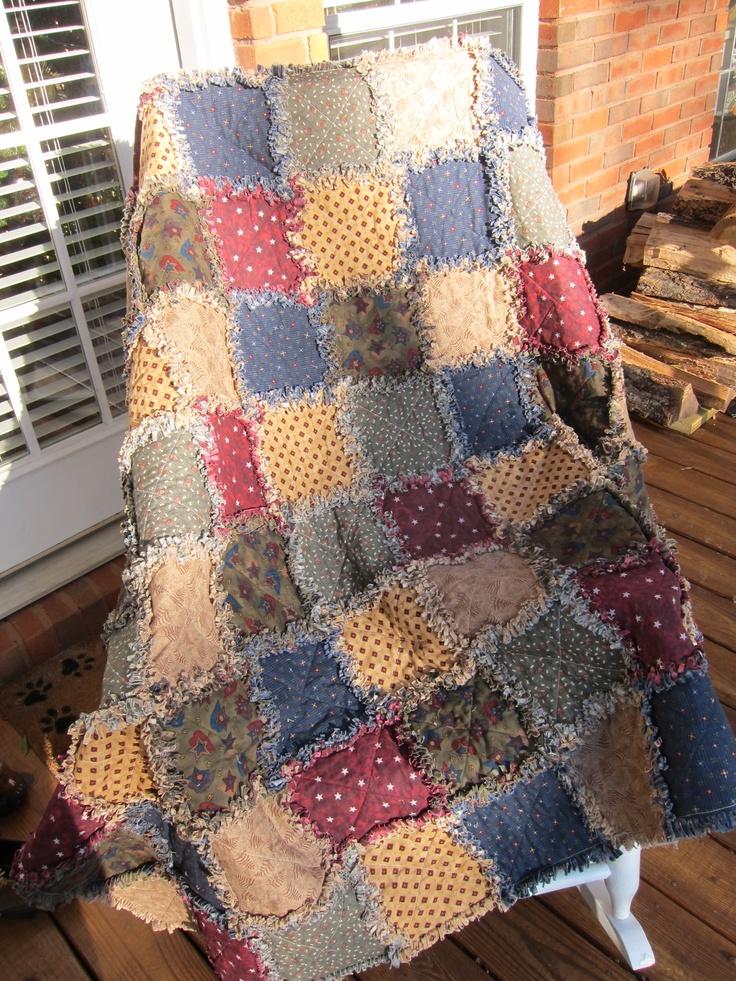 Rag Quilt Color Ideas : Rag Quilt 2010 Rag Quilts~ Pinterest Quilt, Colors and Rag quilt