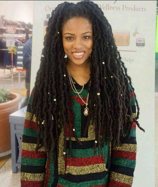 how to start dreads with long natural hair