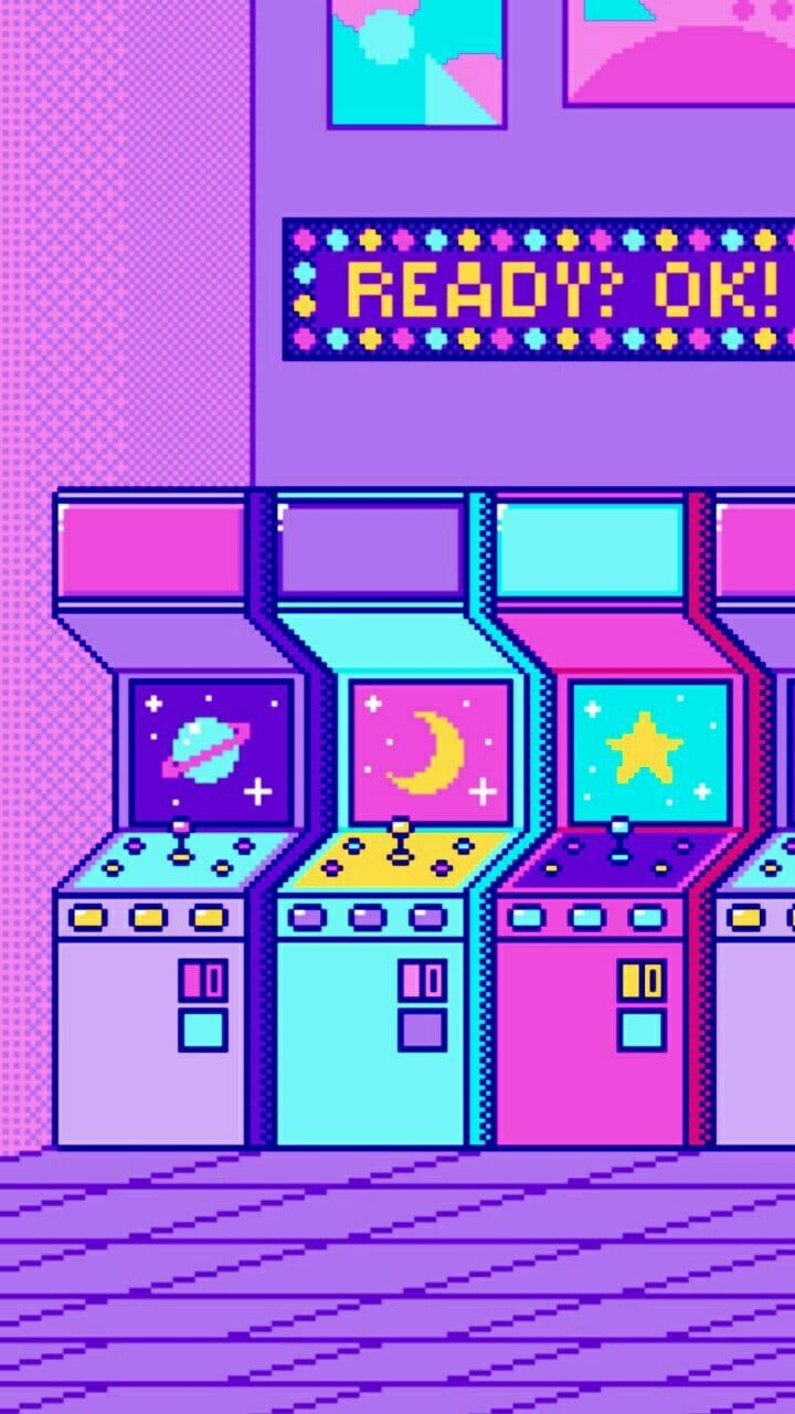 Shared By Kevin Find Images And Videos About Pink Aesthetic Wallpaper On We Heart It The App To Get Lost In Vaporwave Pixel Art