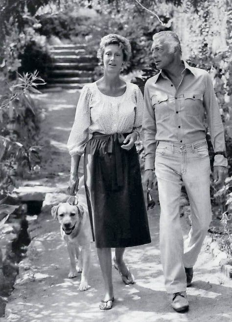 Marella and Gianni Agnelli
