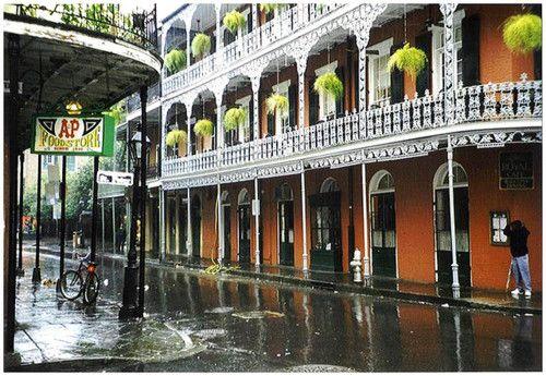 Rainy Day, New Orleans, Louisiana photo via emmener