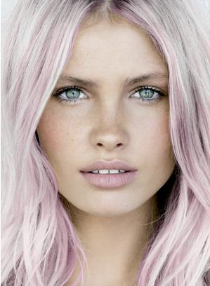pink & blonde hair...only if work would let me!!!