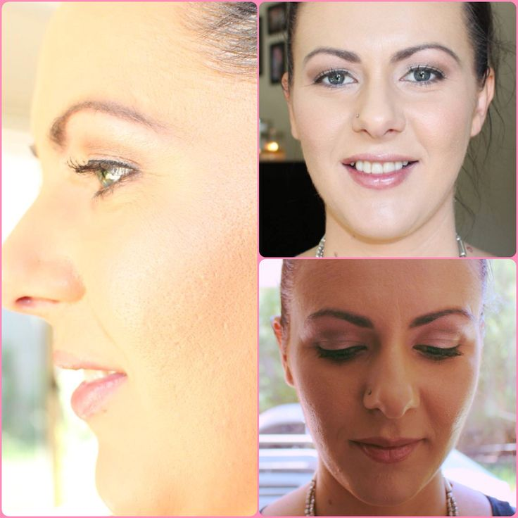 Natural day makeup for baby shower! By Kara Addis.
