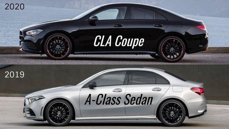 2019 mercedes benz a class sedan vs cla coupe 6 2 in 2020