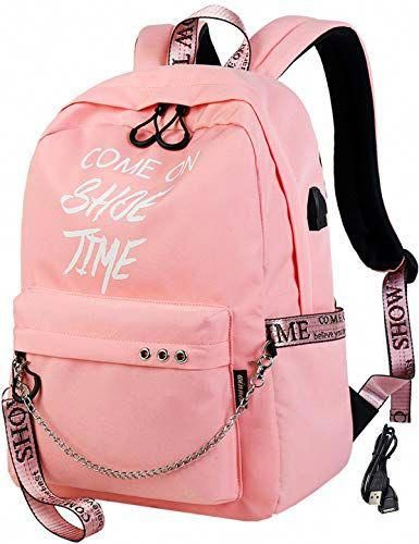 cea5602a89 New El-fmly Fashion Luminous Backpack with USB Port