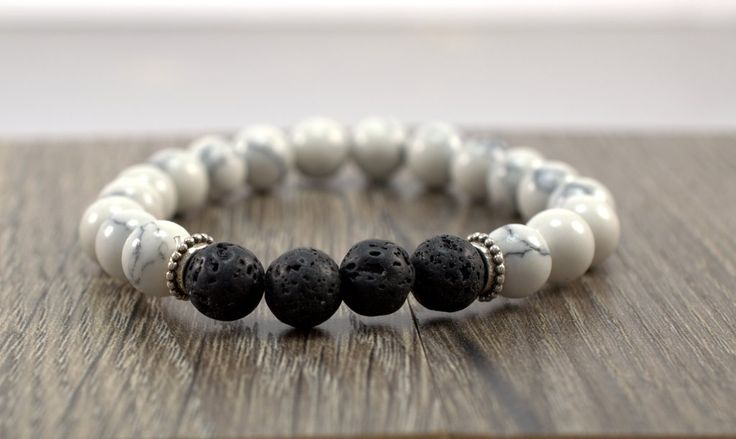 This Lava Stone Stretch Bracelet consists of natural lava stone beads and synthetic turquoise beads. You can select from a variety of different colors or choose them all! If you have essential oils pu