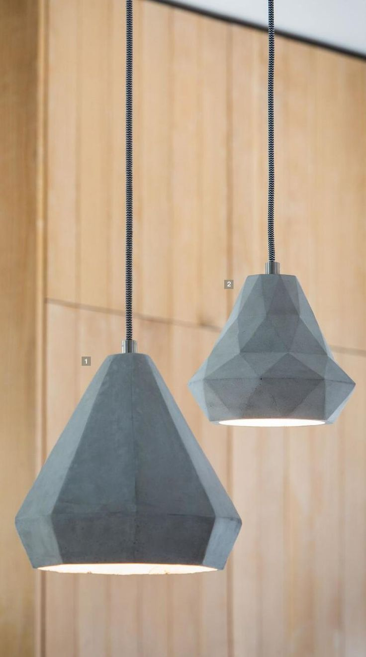 Perfect Are You Interested In Our Geometric Cement Hanging Lamp? With Our Geometric  Lamp You Need Look No Further. Find This Pin And More On Light And Living  ...