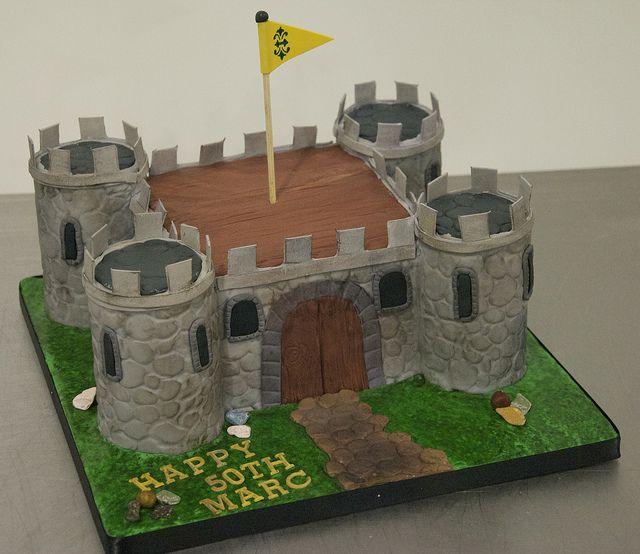 medieval castle cake toronto by www.fortheloveofcake.ca, via Flickr