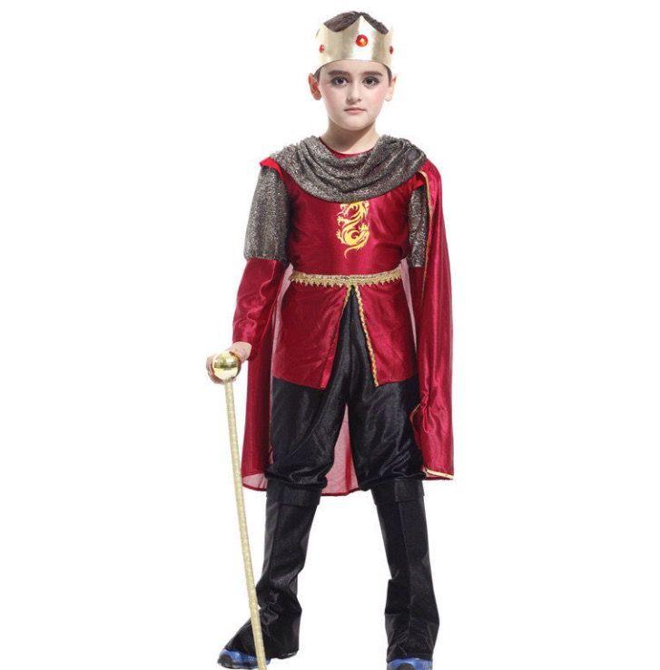 Kinder kostuum koning