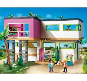 Playmobil Maison Moderne 5574 Carrie Pinterest Modern Mansion