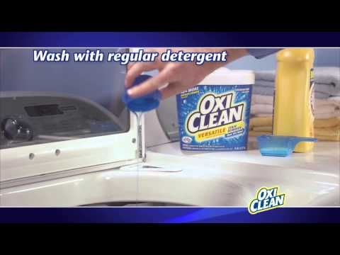 How To Remove Chocolate Stains With OxiClean