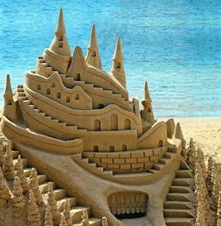 Bank of sea b.. Beautiful