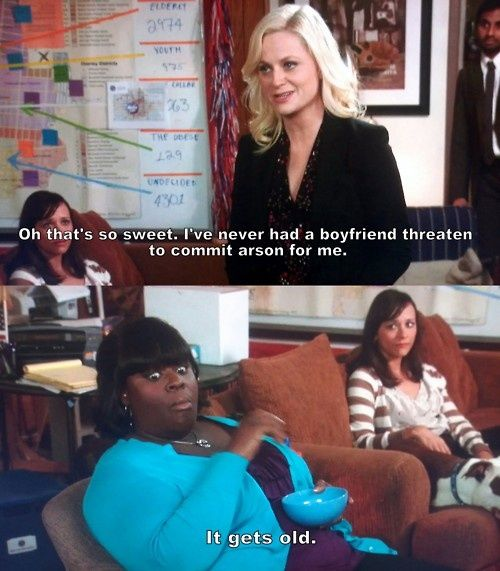 Donna and Leslie -- Parks and Recreation.