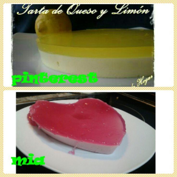 A sabor de hogar TARTA DE QUESO Y LIMON