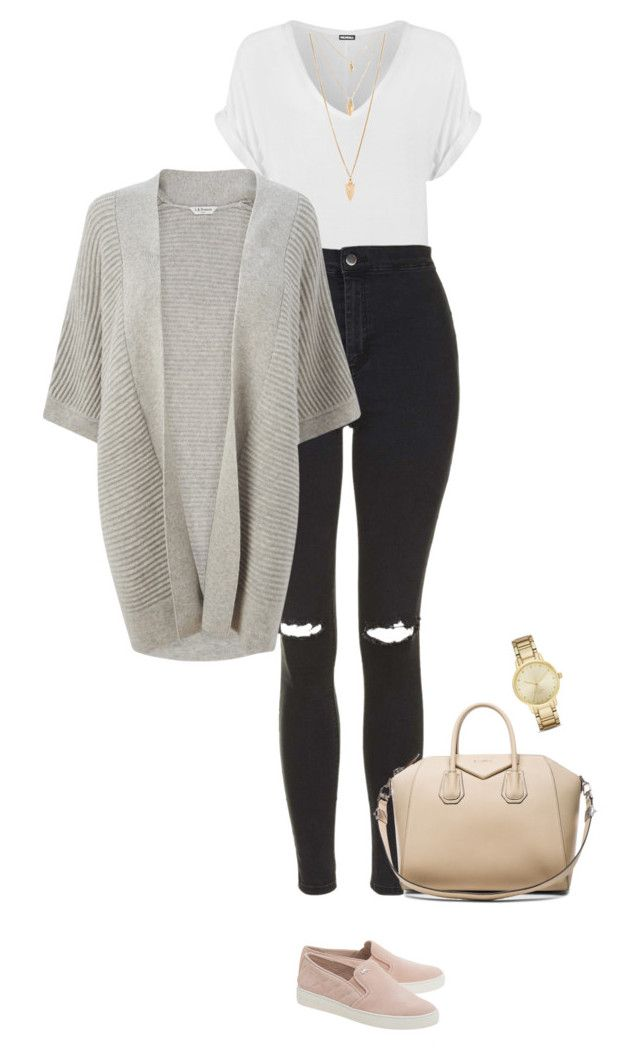 """""""Casually Fabulous !"""" by azzra ❤ liked on Polyvore featuring MICHAEL Michael Kors, WearAll, Topshop, Forever 21, Givenchy, Kate Spade, L.K.Bennett, women's clothing, women and female"""
