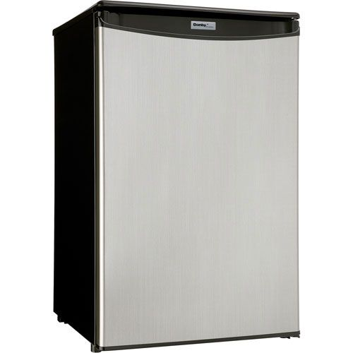 Danby Designer 4.4 Cu. Ft. Freestanding Bar Fridge (DAR044A4BSLDD) - Stainless Steel